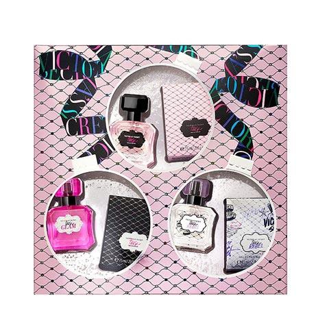 Victoria's Secret Tease Trio Luxury Fragrance Collection Gift Set (7553)