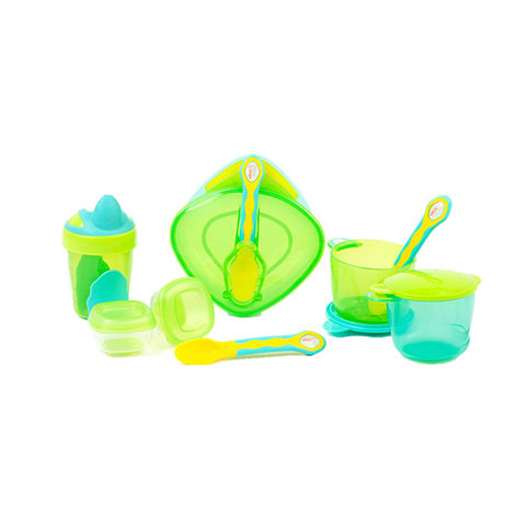 Vital Baby 8 Piece Start Weaning Kit Gift Set - Green (5806)