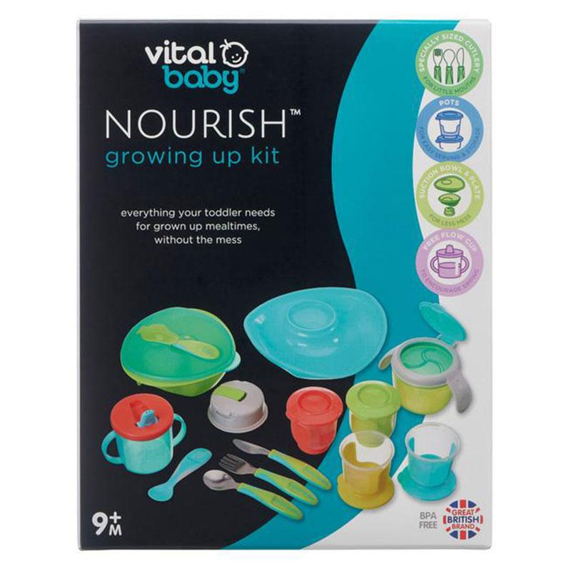 Vital Baby Nourish Growing Up Kit 9M+ ( 9132 )