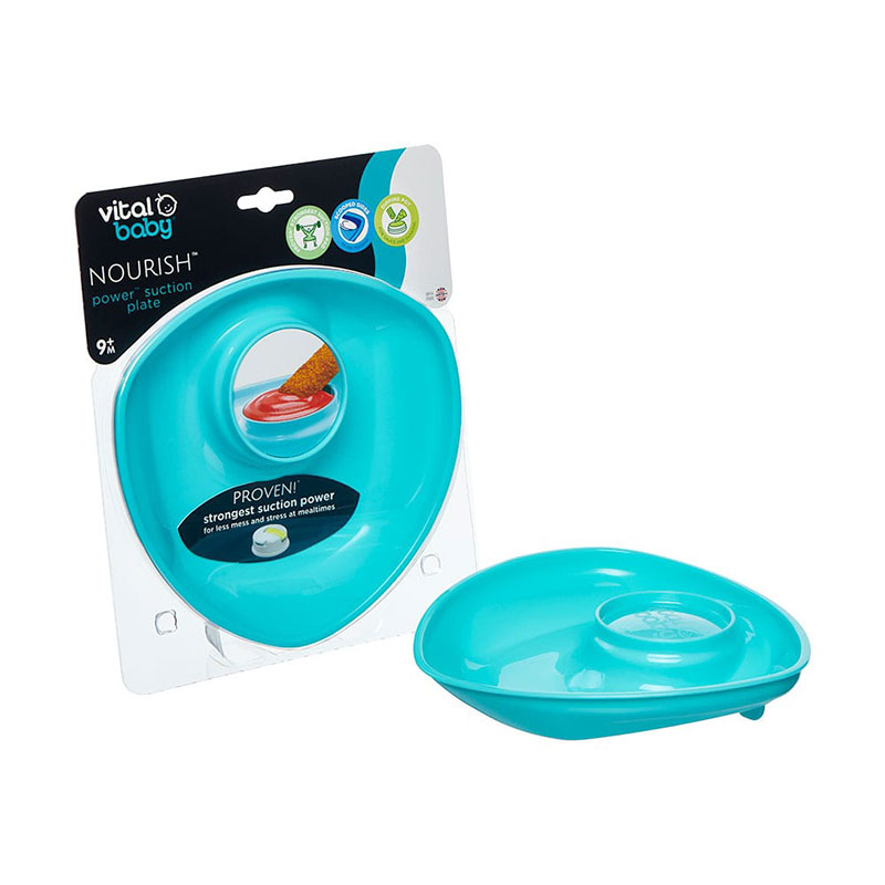 Vital Baby Power Suction Plate For Babies 9m+ - Paste