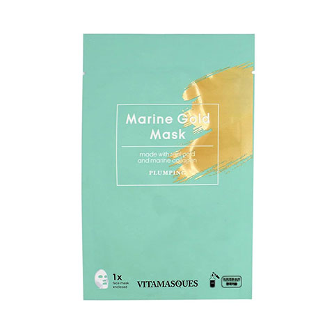 Vitamasques Plumping Marine Gold Sheet Mask 20ml