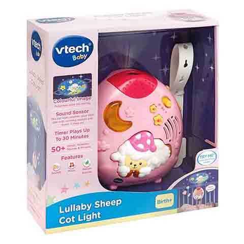 VTech Baby Lullaby Sheep Cot Light - Pink