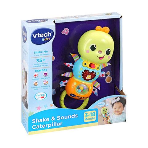 VTech Baby Shake & Sounds Caterpillar 3-18m