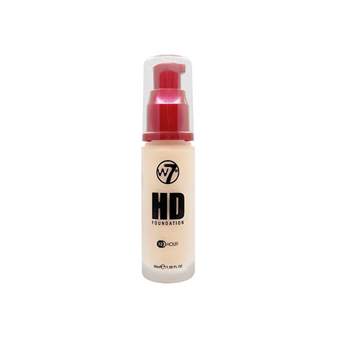 W7 12 Hour HD Foundation 30ml - Rose Ivory