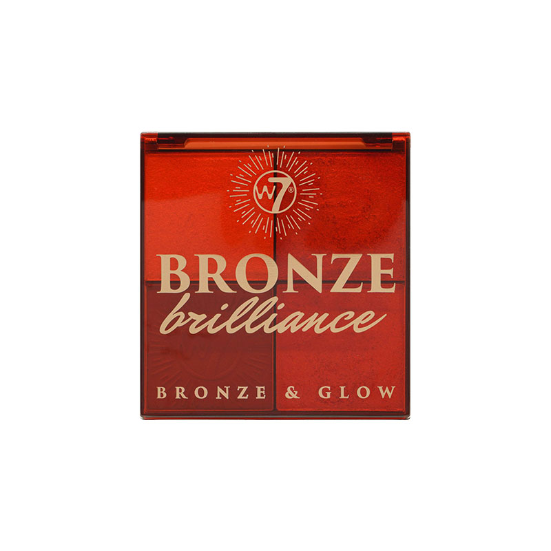 W7 Bronze Brilliance Bronze & Glow Palette - Light / Medium