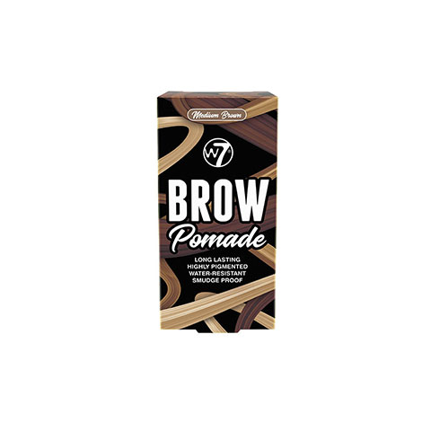 W7 Brow Pomade 4.25g - Medium Brown