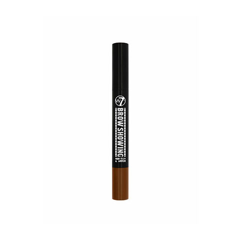 W7 Brow Showing Eyebrow Cream & Brush - Brunette