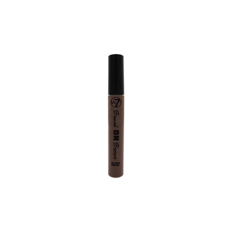 W7 Brush On Brows Brow Gel - Dark Brown