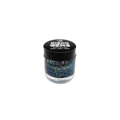 W7 Disco Gems Festival Party Glitter Gel Makeup - Night Rider