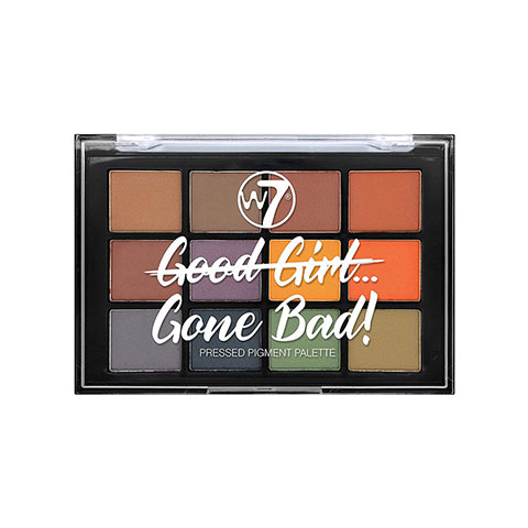 W7 Good Girl Gone Bad Pressed Pigment Palette - Gone Bad