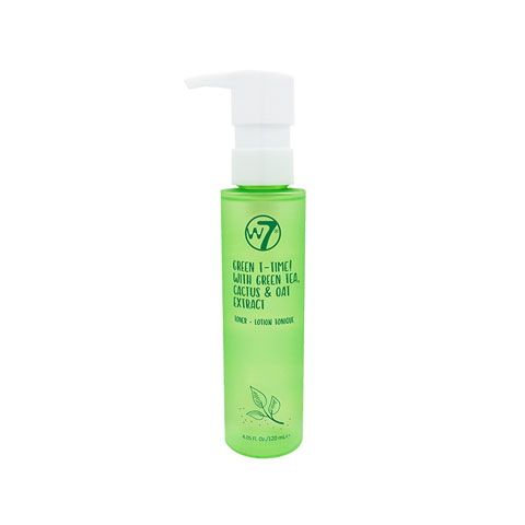 W7 Green T-Time Face Toner 120ml