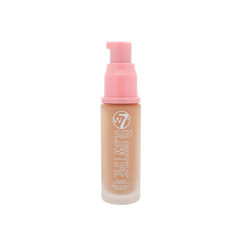W7 It's Glow Time Radiant Foundation - Honey Glow