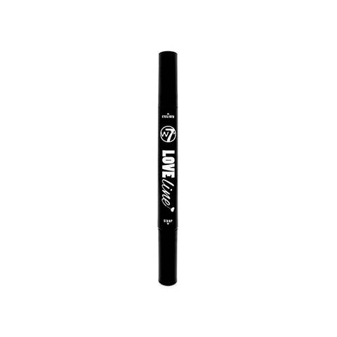 W7 Love Line Heart Stamp & Liquid Eyeliner 1.0g