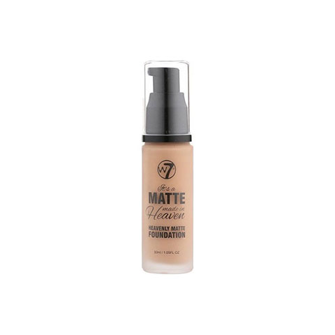 W7 Matte Made In Heaven Foundation 30ml - Early Tan