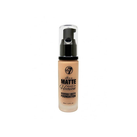 W7 Matte Made In Heaven Foundation 30ml - Natural Tan