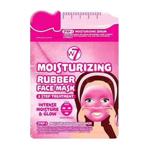 W7 Moisturising 2 Step Treatment Serum + Rubber Facial Mask