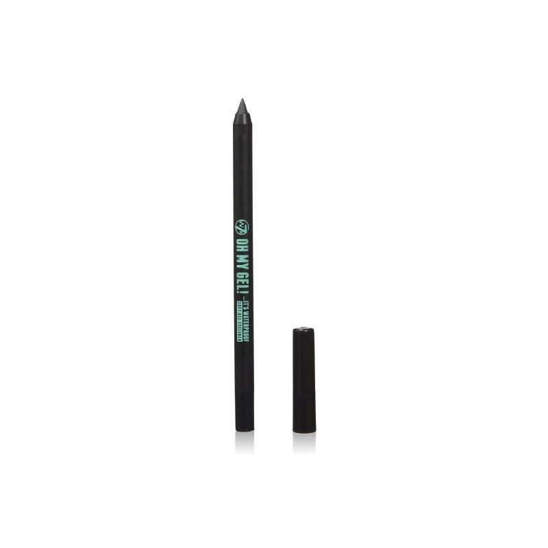 W7 Oh My Gel Waterproof Eyeliner Pencil - Blackest Black