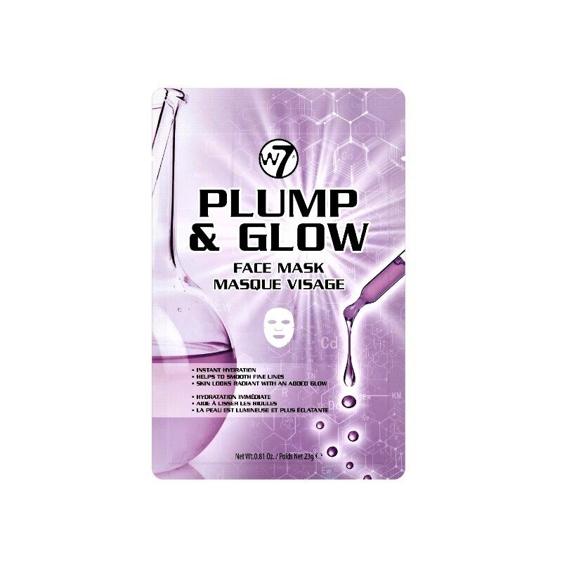 W7 Plump & Glow Face Sheet Mask 23g