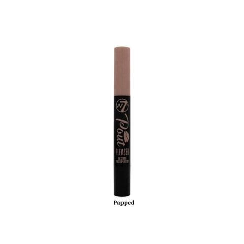 W7 Pout Pleaser One Stroke Twist Up Lipstick - Papped