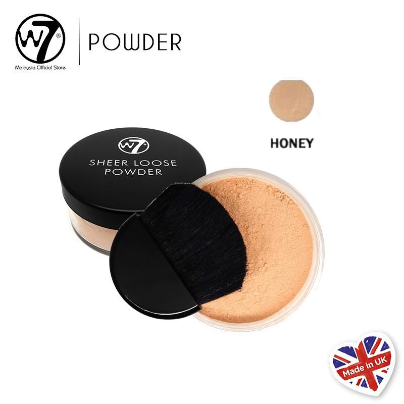 W7 Sheer Loose Powder - Honey