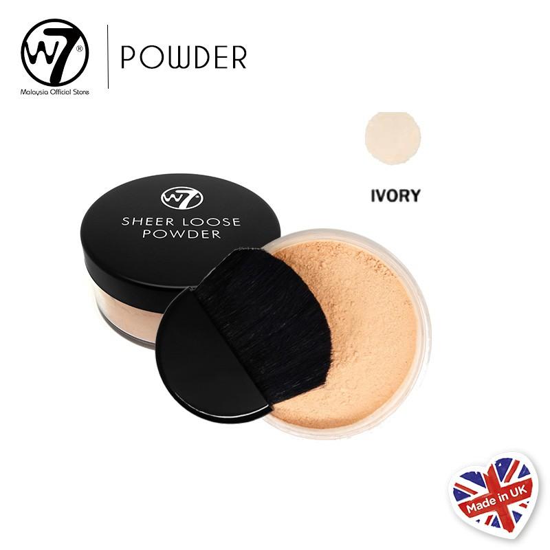 W7 Sheer Loose Powder - Ivory