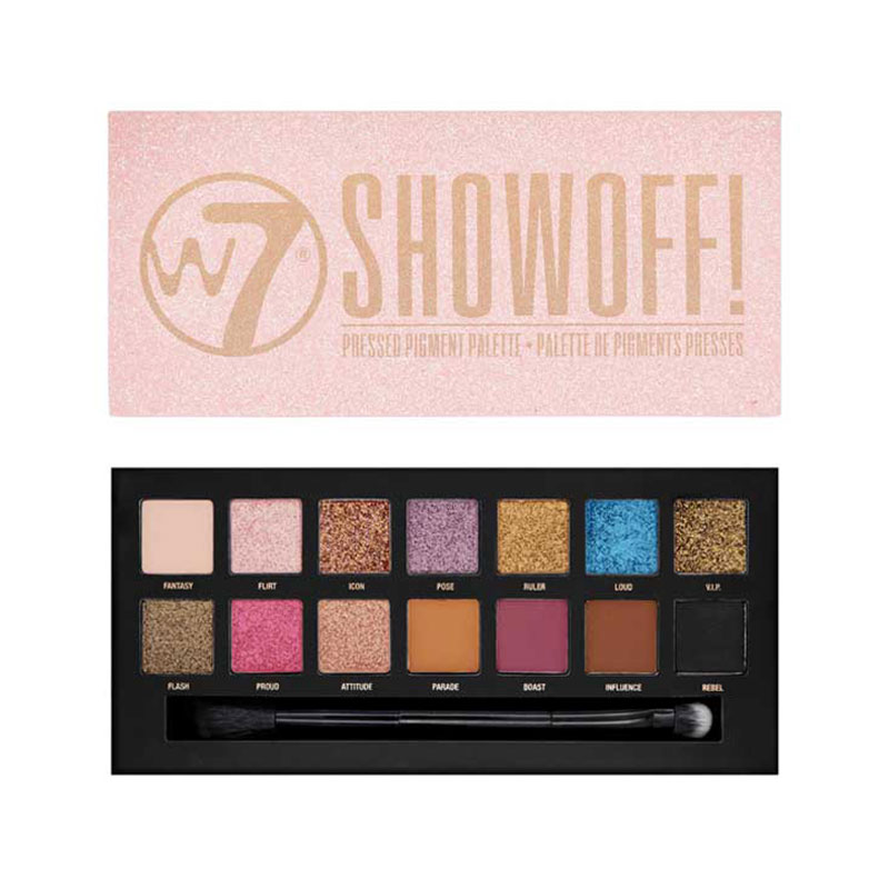 W7 Show Off Pressed Pigments Eyeshadow Palette