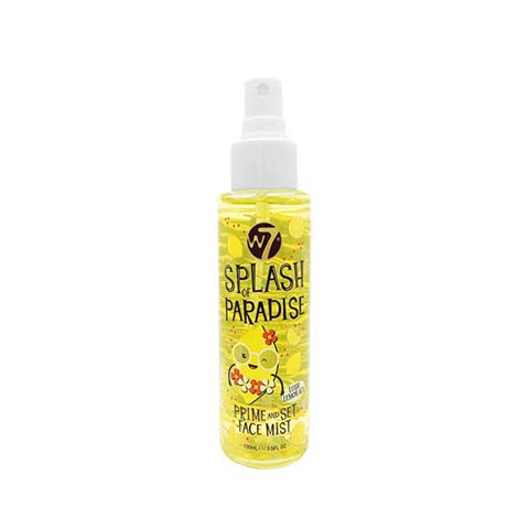W7 Splash Of Paradise Prime And Set Face Mist - Lush Lemon Ice
