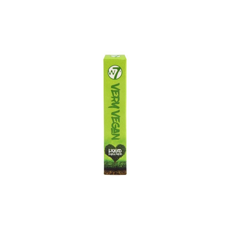 W7 Very Vegan Liquid Eyeliner - Very Black