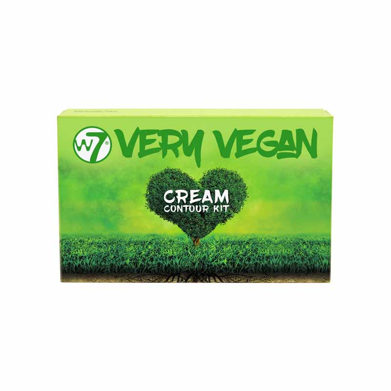 W7 Very Vegan Cream Contour Kit - Fair Light