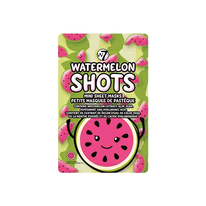 W7 Watermelon Shots Mini Sheet Masks
