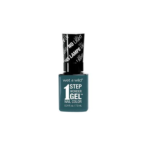 Wet n Wild 1 Step Wonder Gel Nail Color - E7061 Un-Teal Next Time