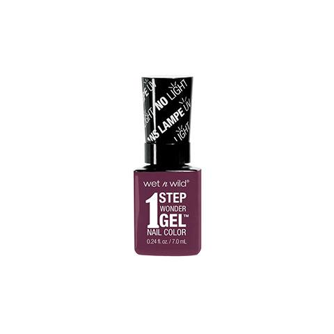 Wet n Wild 1 Step Wonder Gel Nail Color - E7341 Under My Plum