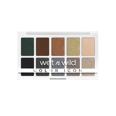 Wet n Wild Color Icon 10 Pan Eyeshadow Palette - Lights Off