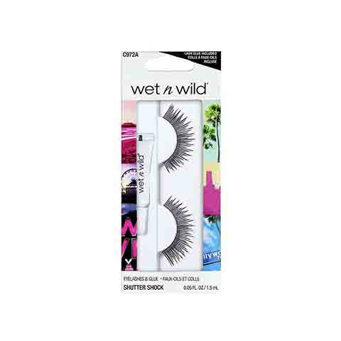 Wet n Wild False Eyelashes & Glue - C972A Shutter Shock