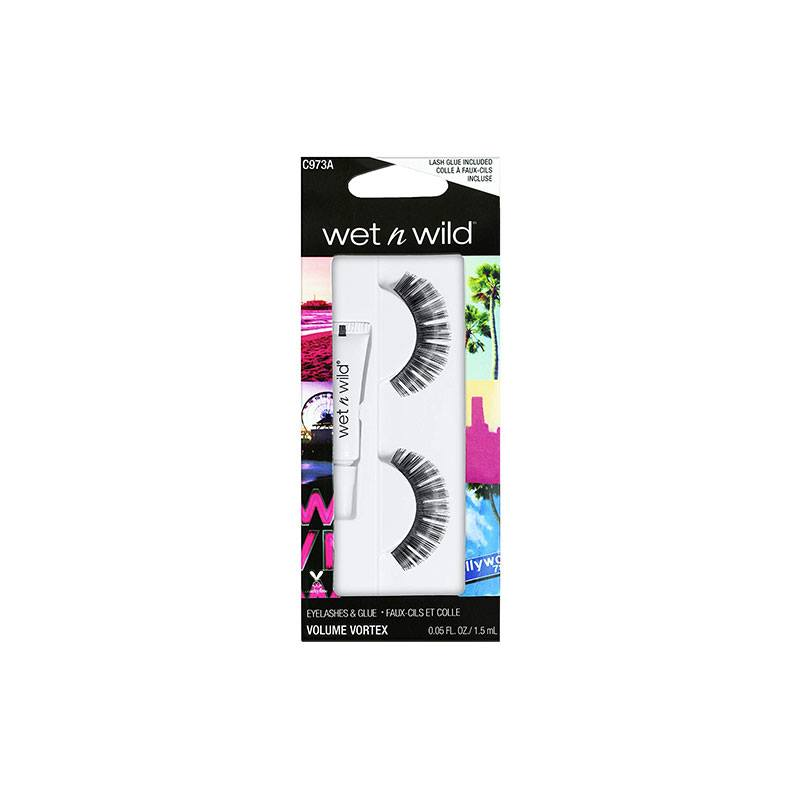 Wet n Wild False Eyelashes & Glue - C973A Volume Vortex