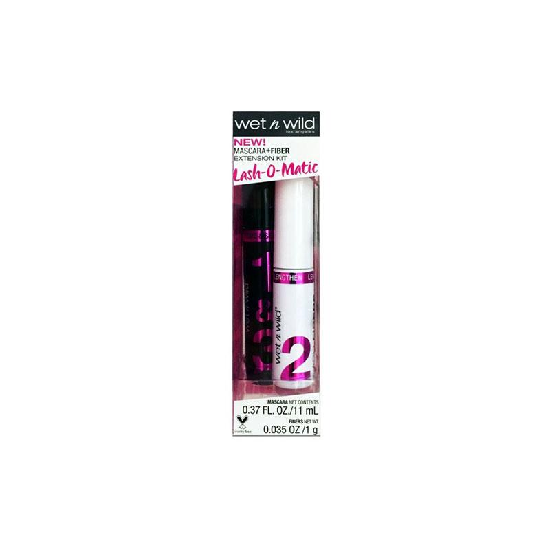 Wet N Wild Lash - O - Matic Mascara Fiber Extension Kit 11ml