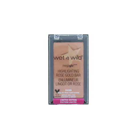 Wet n Wild MegaGlo Highlighting Rose Gold Bar - E6289 Baby It's Rose Gold Outside