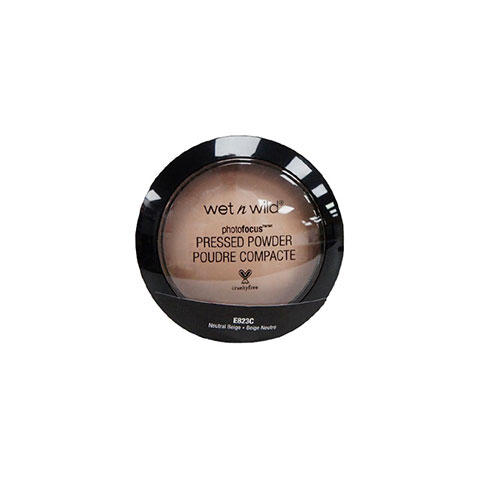 Wet N Wild Photo Focus Pressed Powder 7.5g - Neutral Beige E823C
