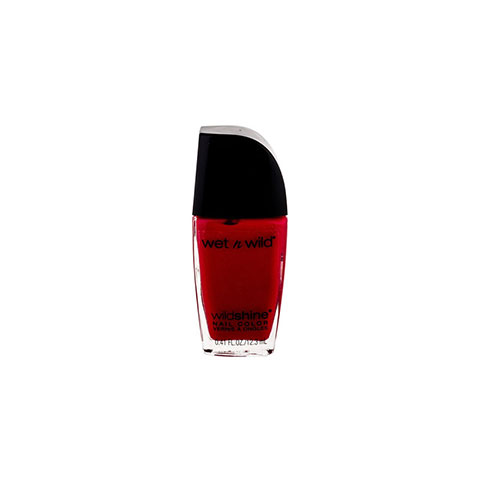 Wet n Wild Wildshine Nail Color - E476E Red Red