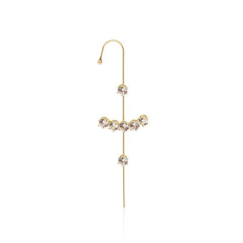 Women Stylish Ear Wrap Hook Stud Surround Piercing Earring