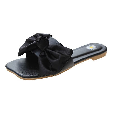 Women Summer Daisy Bow Outer Wear Sandals