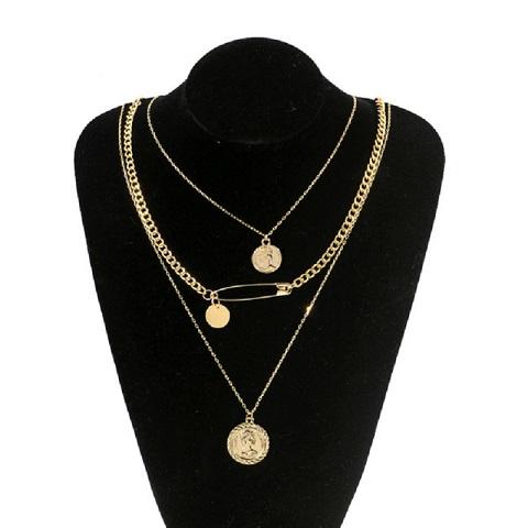 Women's Multilayer Pendant Necklace