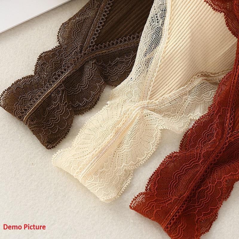 Women's Seamless Lace Threaded Sleeveless Top - Grey