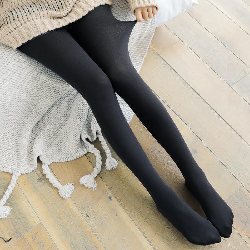Women's Black Footed Leggings