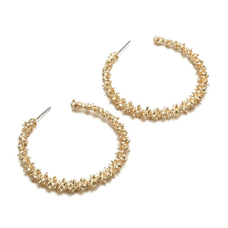 Women's Trendy Thorny Circle Earrings