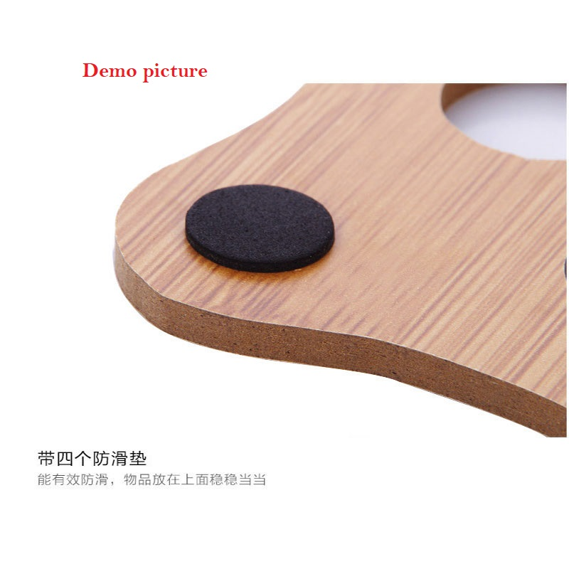 Wooden Potholder Non Slip Table Mat - Cat