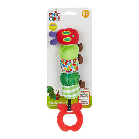 World Of Eric Carle Very Hungry Caterpillar Teether Rattle 0m+