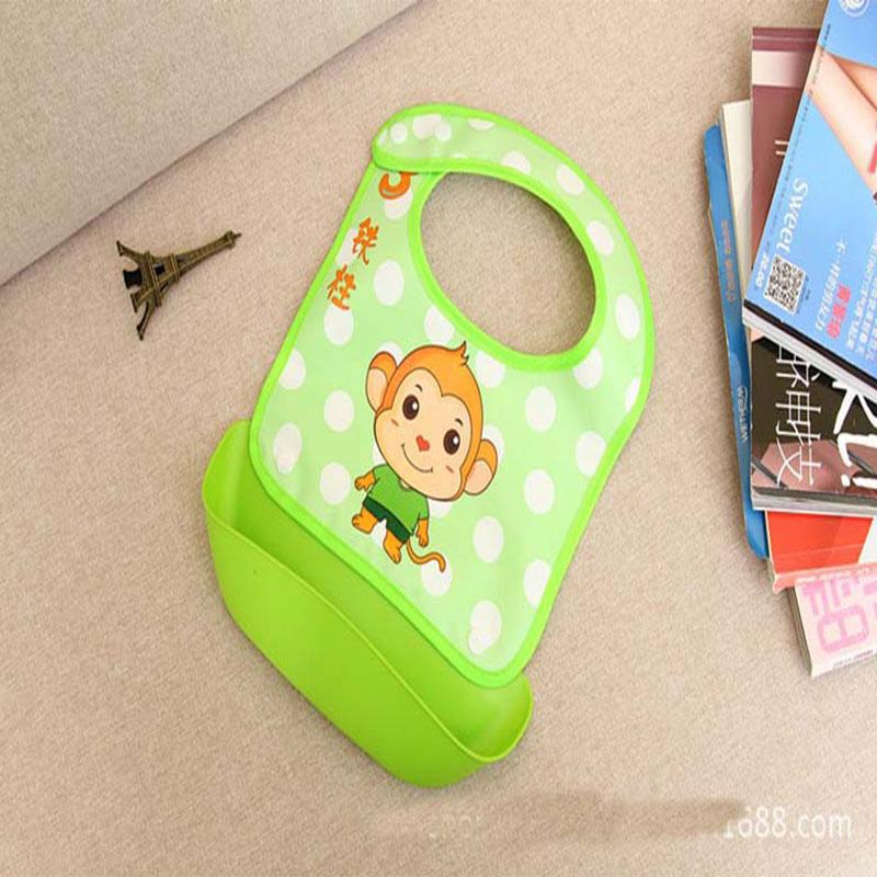 Xierbao Baby Detachable Waterproof Bib - Green