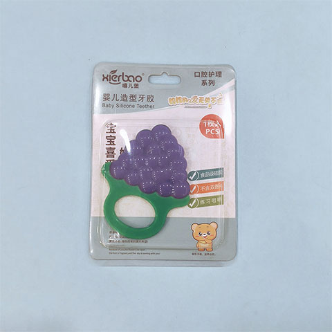 Xierbao Baby Silicone Teether - Grape