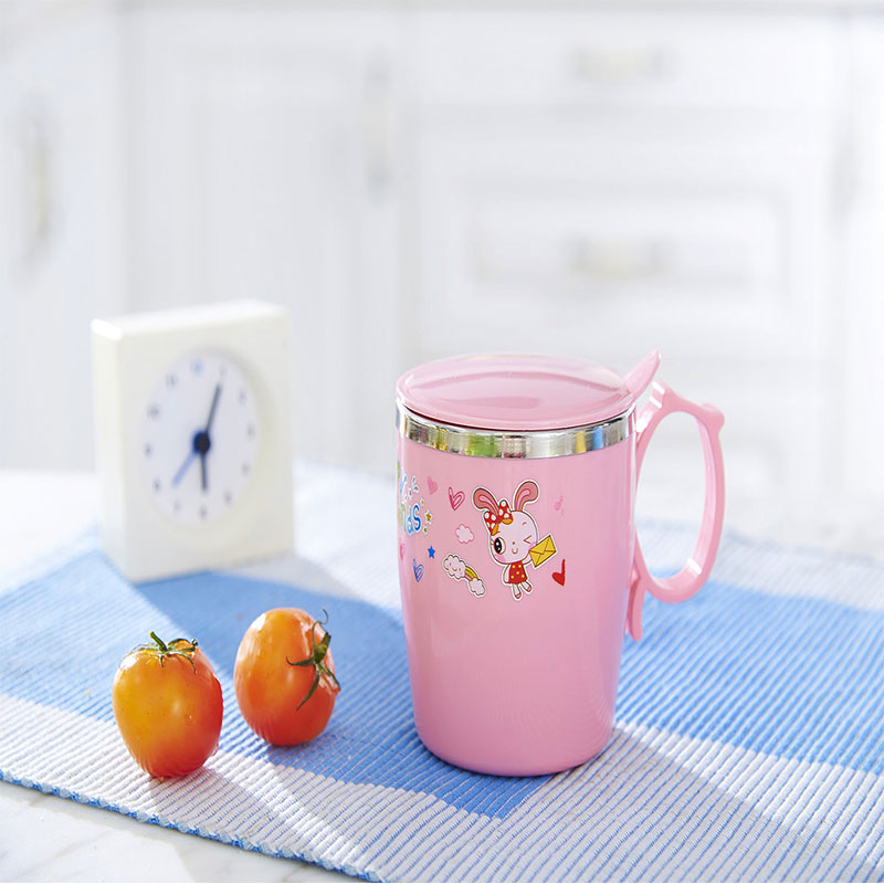 Xierbao Stainless Steel Insulation Cup - Pink
